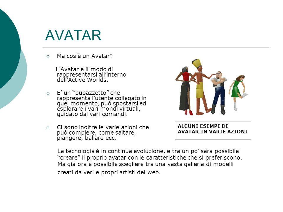 AVATAR Ma cos'è un Avatar