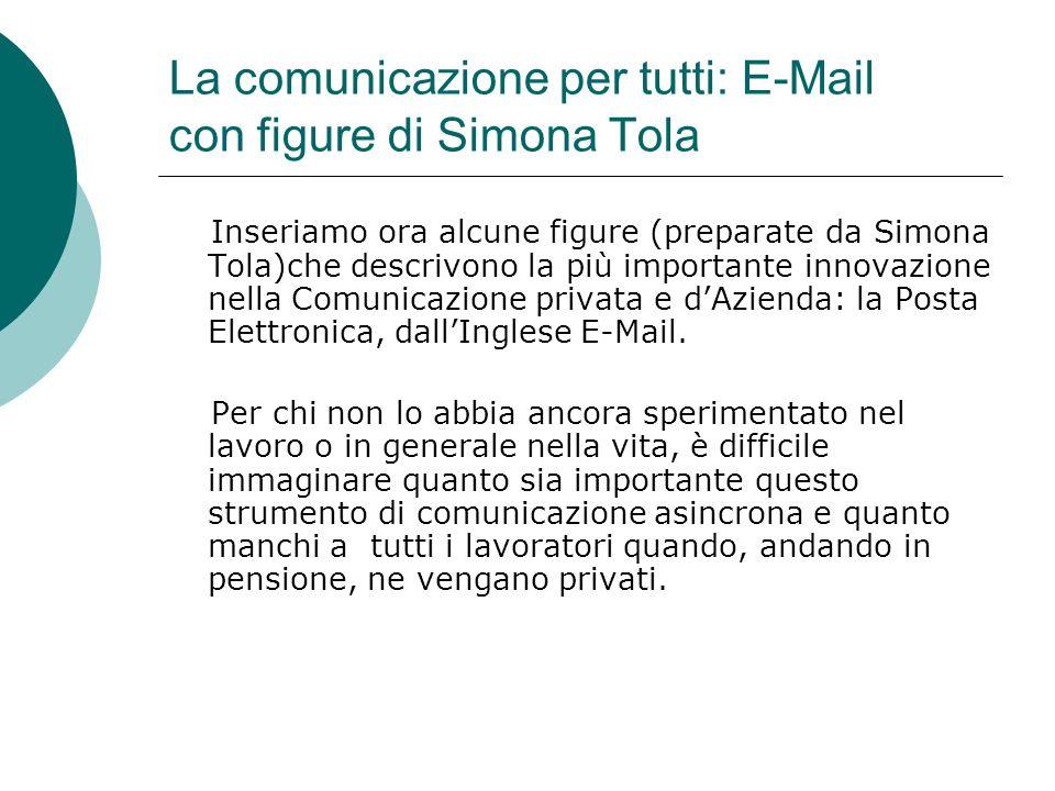 La comunicazione per tutti: E-Mail con figure di Simona Tola
