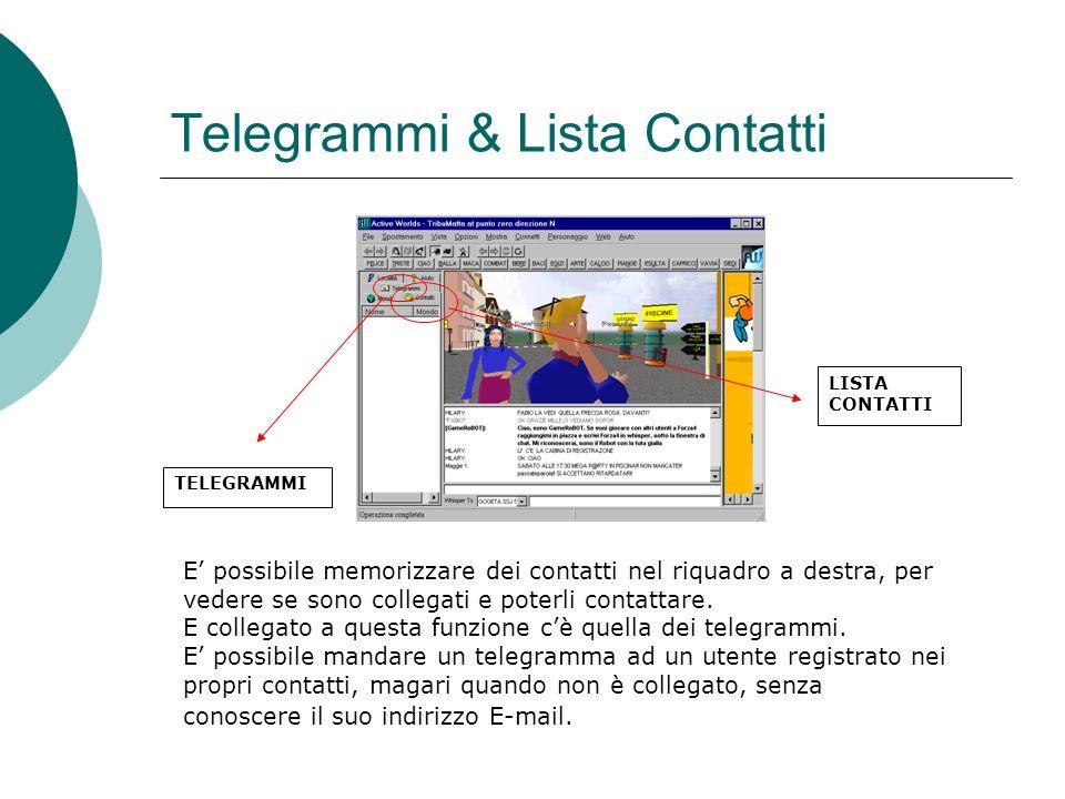 Telegrammi & Lista Contatti