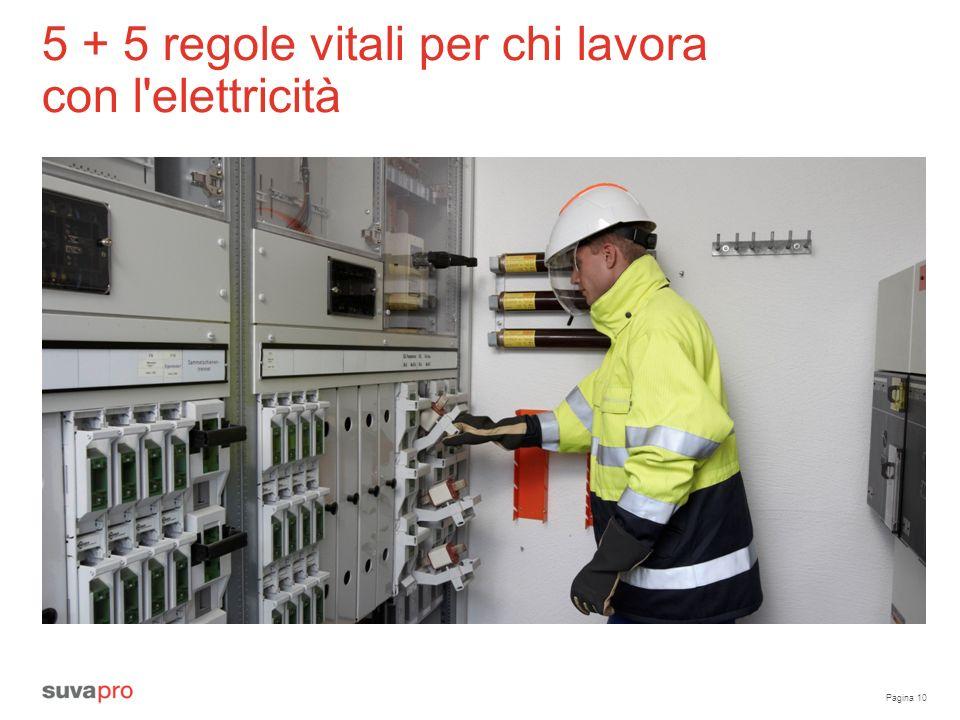 5 + 5 regole vitali per chi lavora con l elettricità