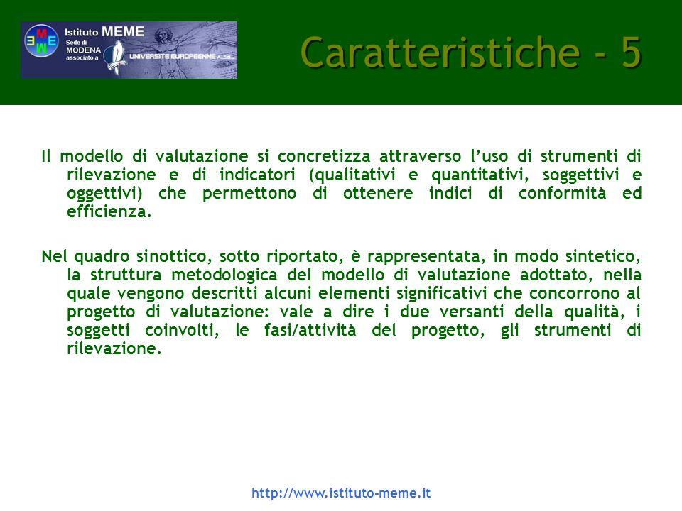 Caratteristiche - 5