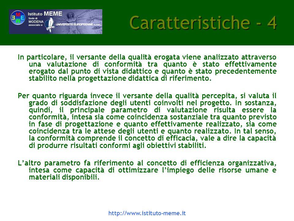 Caratteristiche - 4