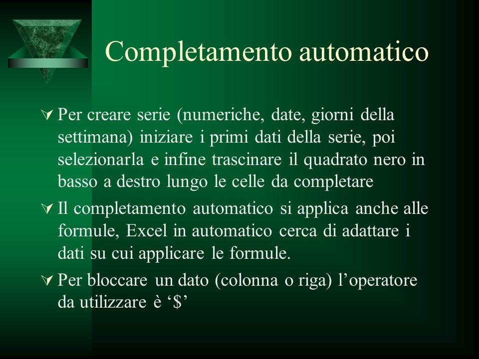 Completamento automatico