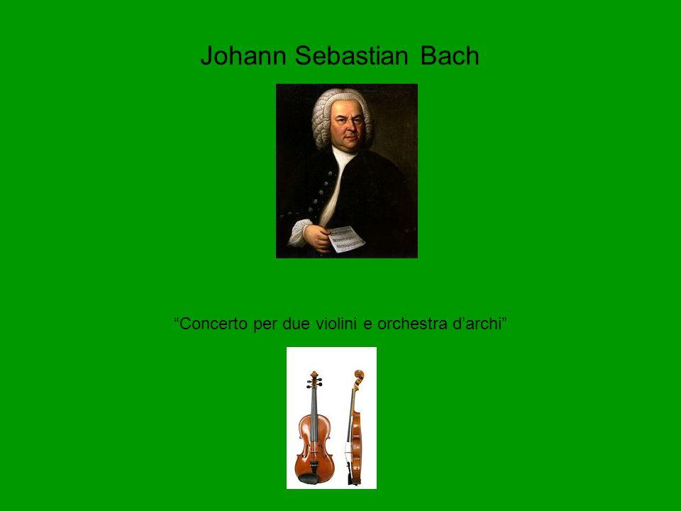 Concerto per due violini e orchestra d'archi