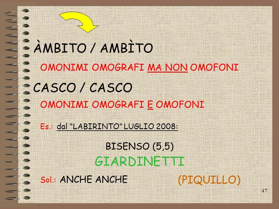 ÀMBITO / AMBÌTO CASCO / CASCO GIARDINETTI (PIQUILLO)