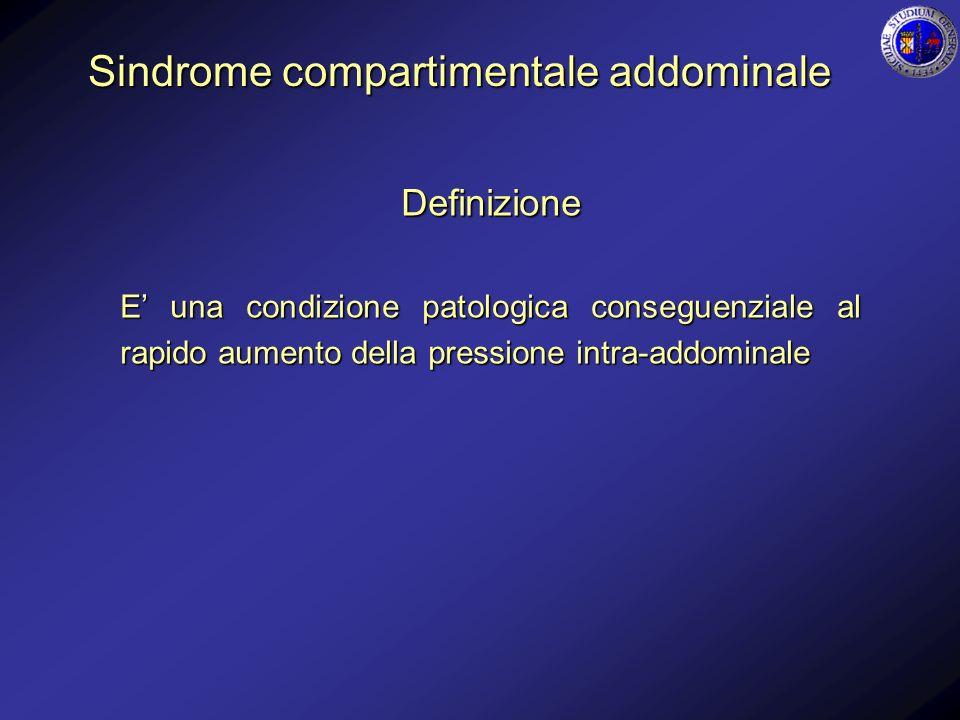 Sindrome compartimentale addominale
