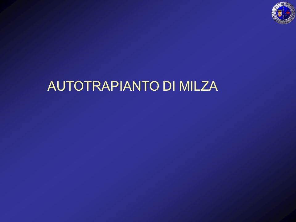 AUTOTRAPIANTO DI MILZA