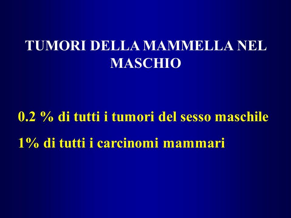 TUMORI DELLA MAMMELLA NEL MASCHIO