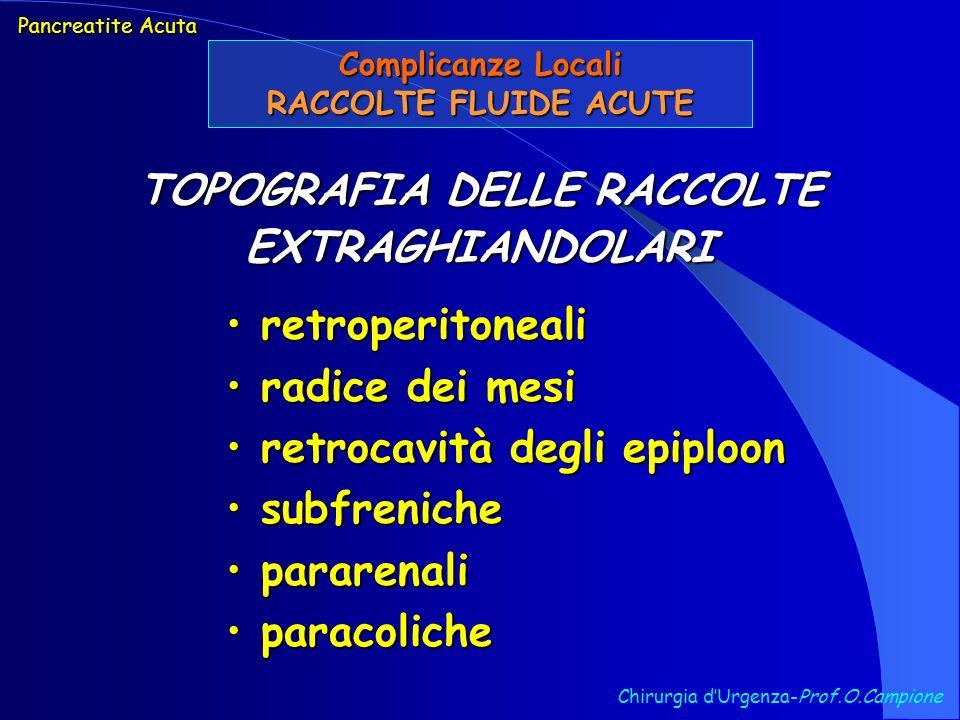 TOPOGRAFIA DELLE RACCOLTE EXTRAGHIANDOLARI