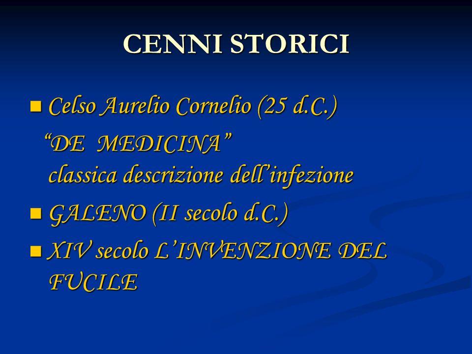 CENNI STORICI Celso Aurelio Cornelio (25 d.C.)