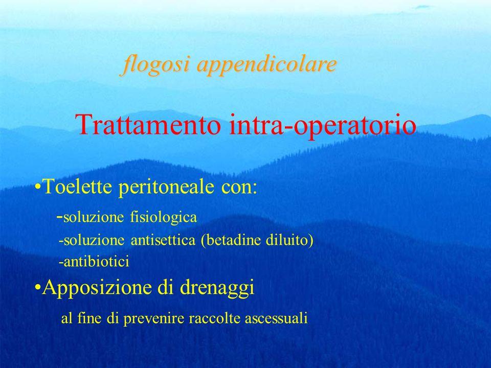 Trattamento intra-operatorio