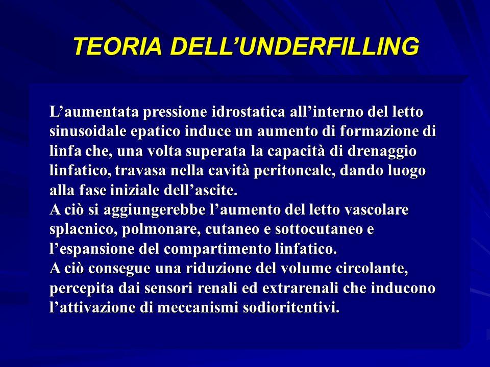 TEORIA DELL'UNDERFILLING