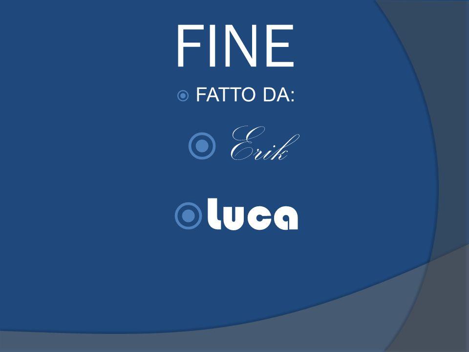 FINE FATTO DA: Erik Luca