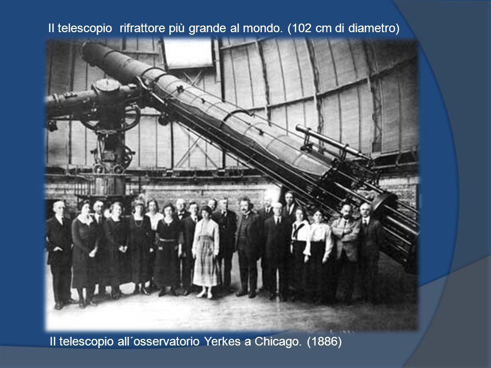 Il telescopio rifrattore più grande al mondo. (102 cm di diametro)