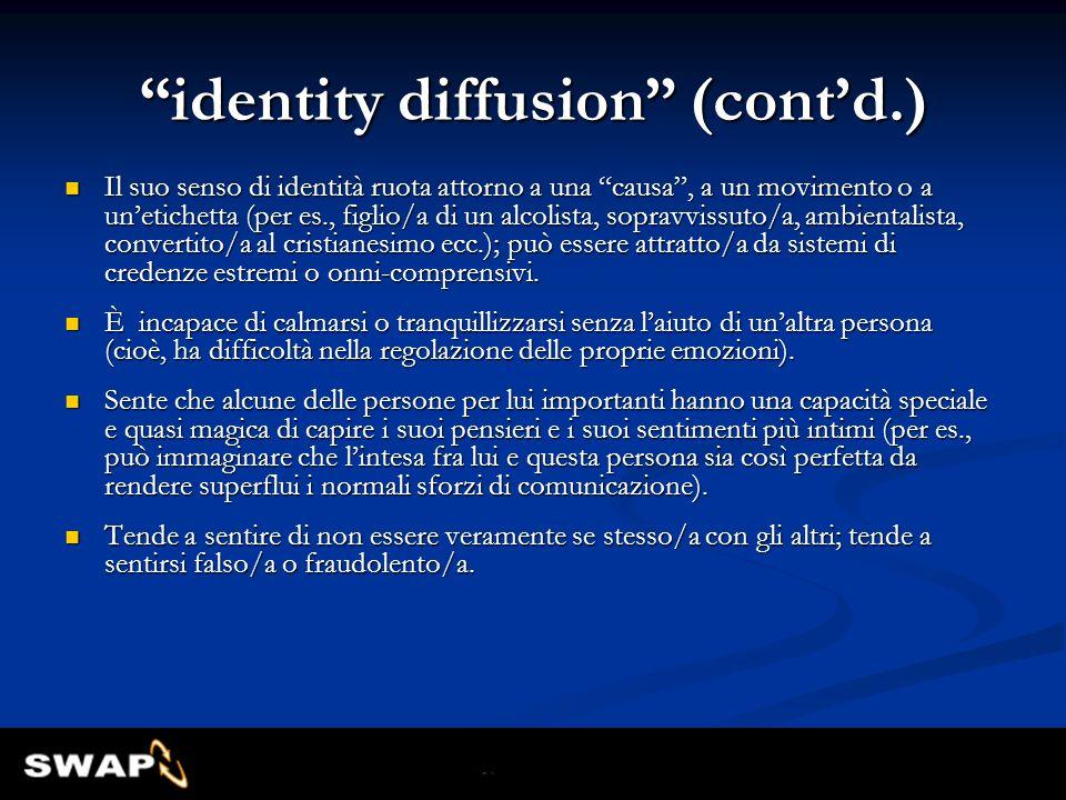 identity diffusion (cont'd.)