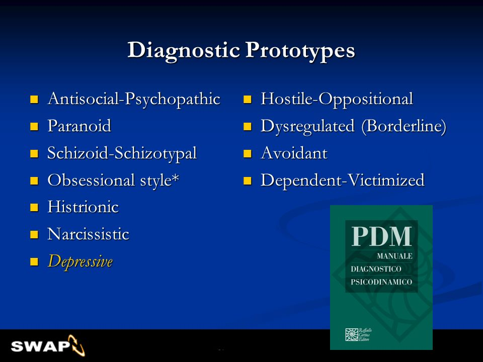 Diagnostic Prototypes