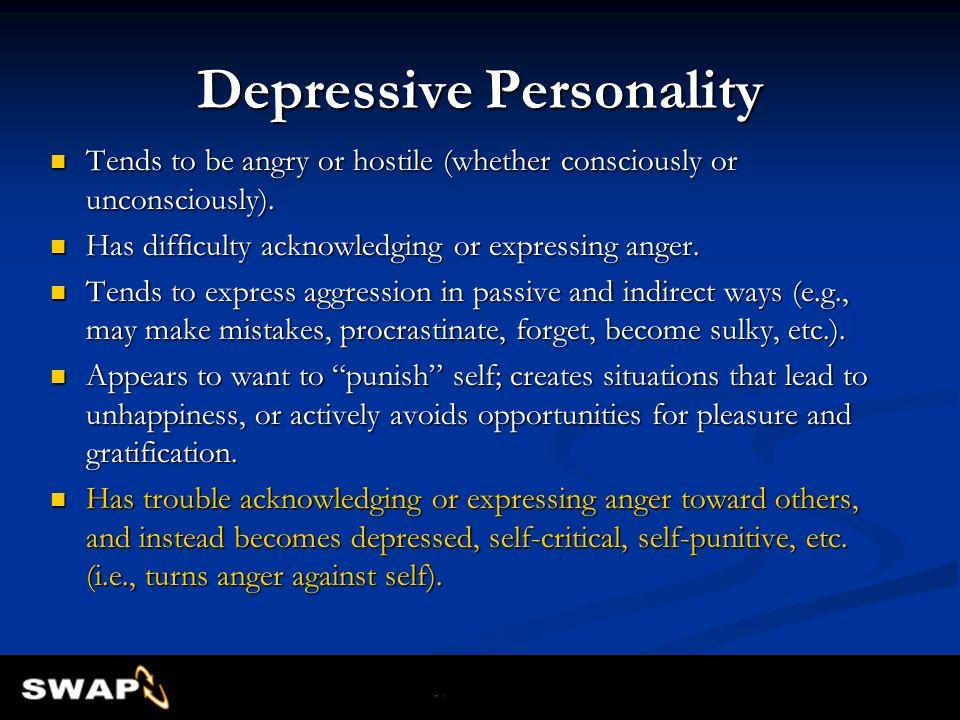 Depressive Personality