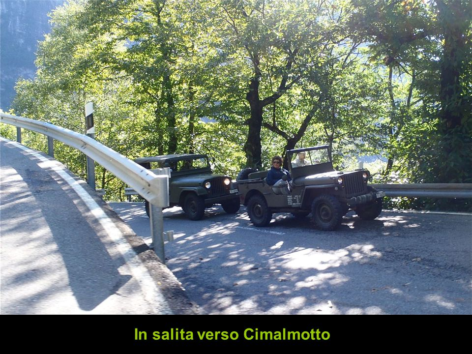 In salita verso Cimalmotto