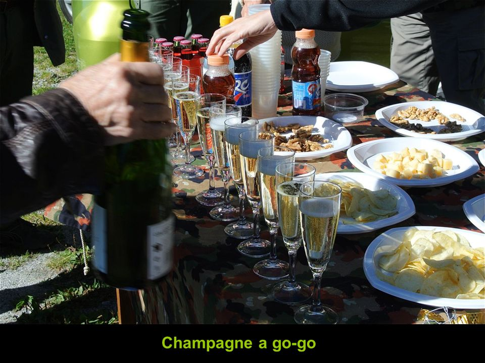 Champagne a go-go
