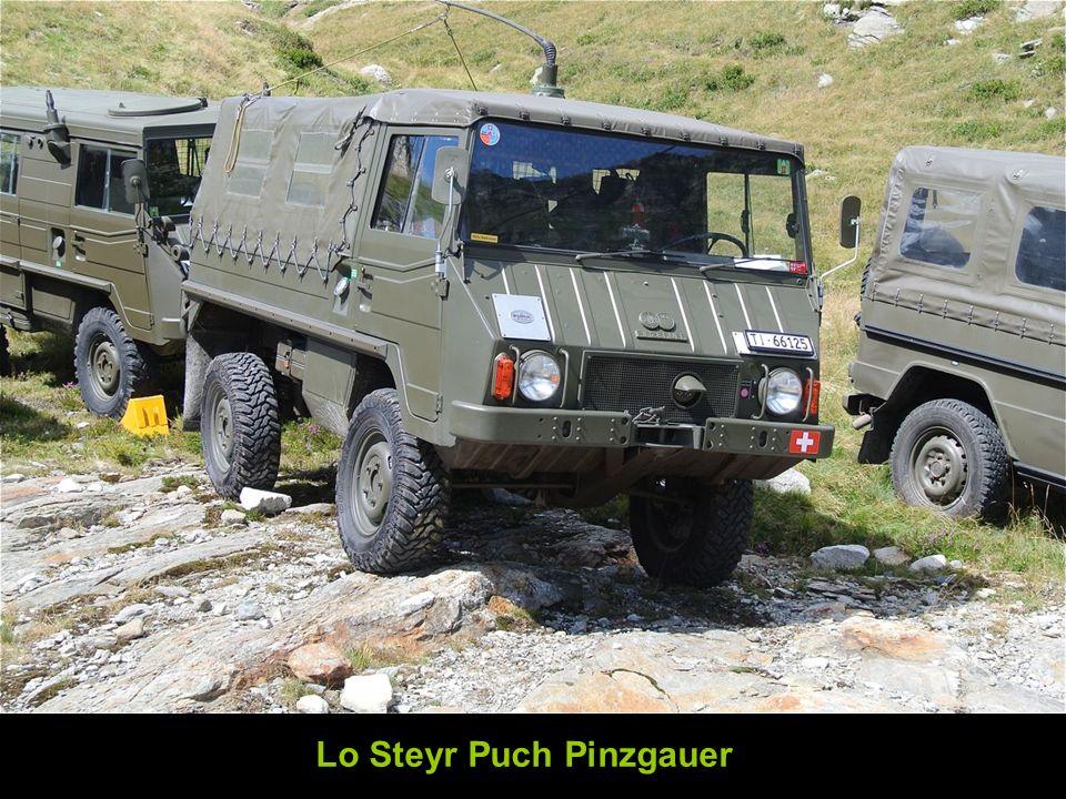 Lo Steyr Puch Pinzgauer