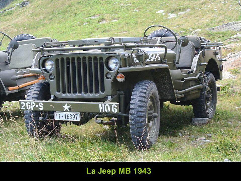 La Jeep MB 1943