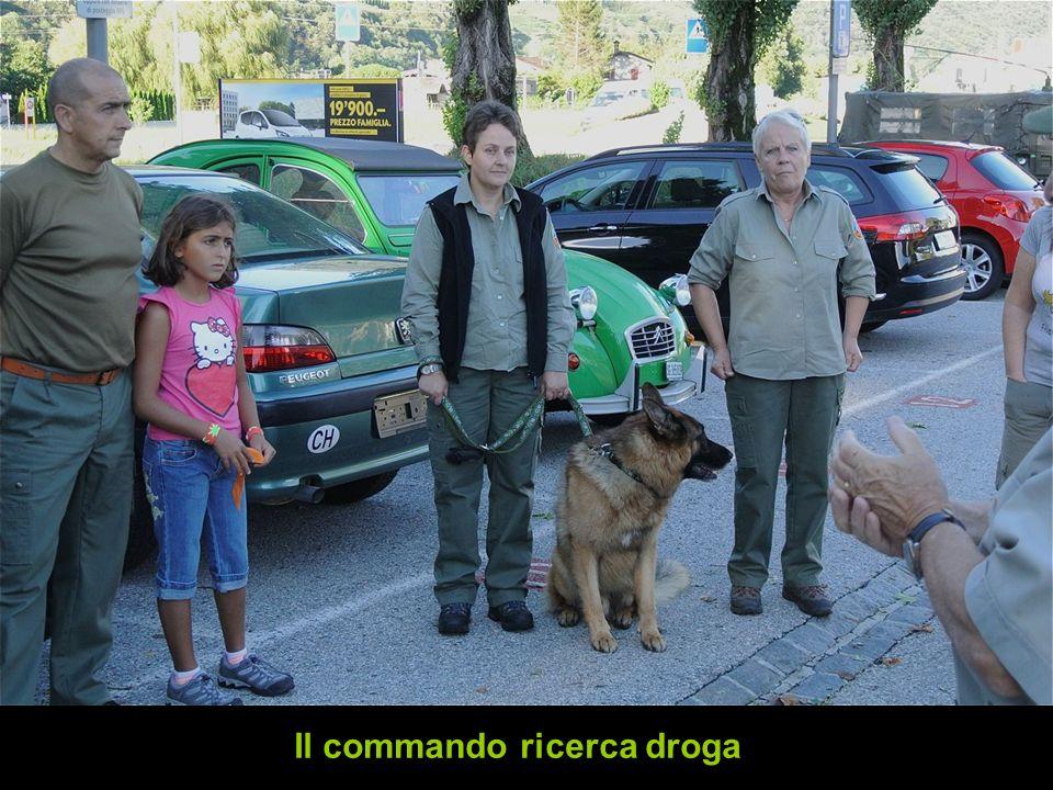 Il commando ricerca droga