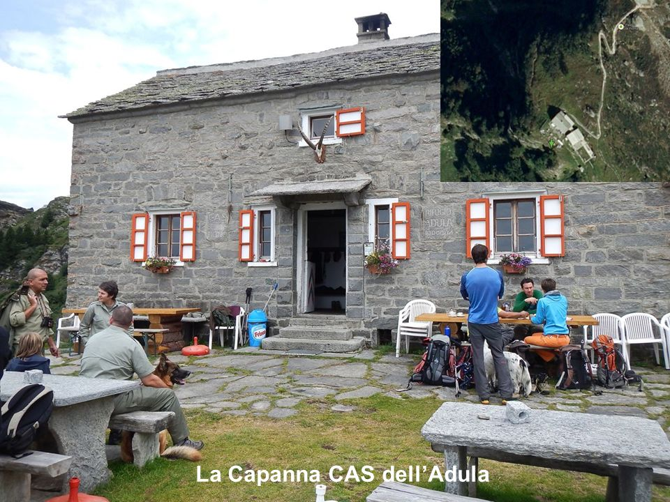 La Capanna CAS dell'Adula