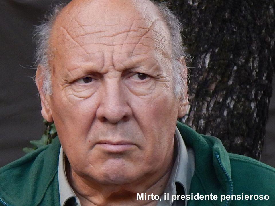 Mirto, il presidente pensieroso