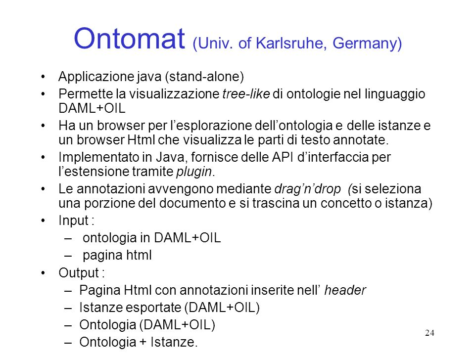 Ontomat (Univ. of Karlsruhe, Germany)