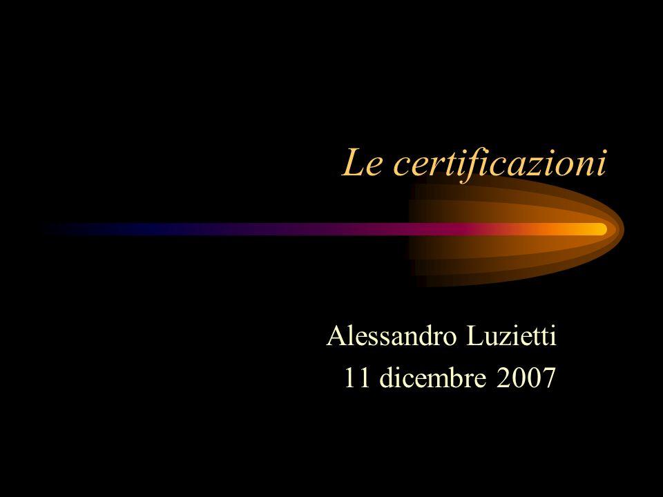 Alessandro Luzietti 11 dicembre 2007