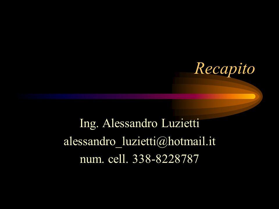 Ing. Alessandro Luzietti
