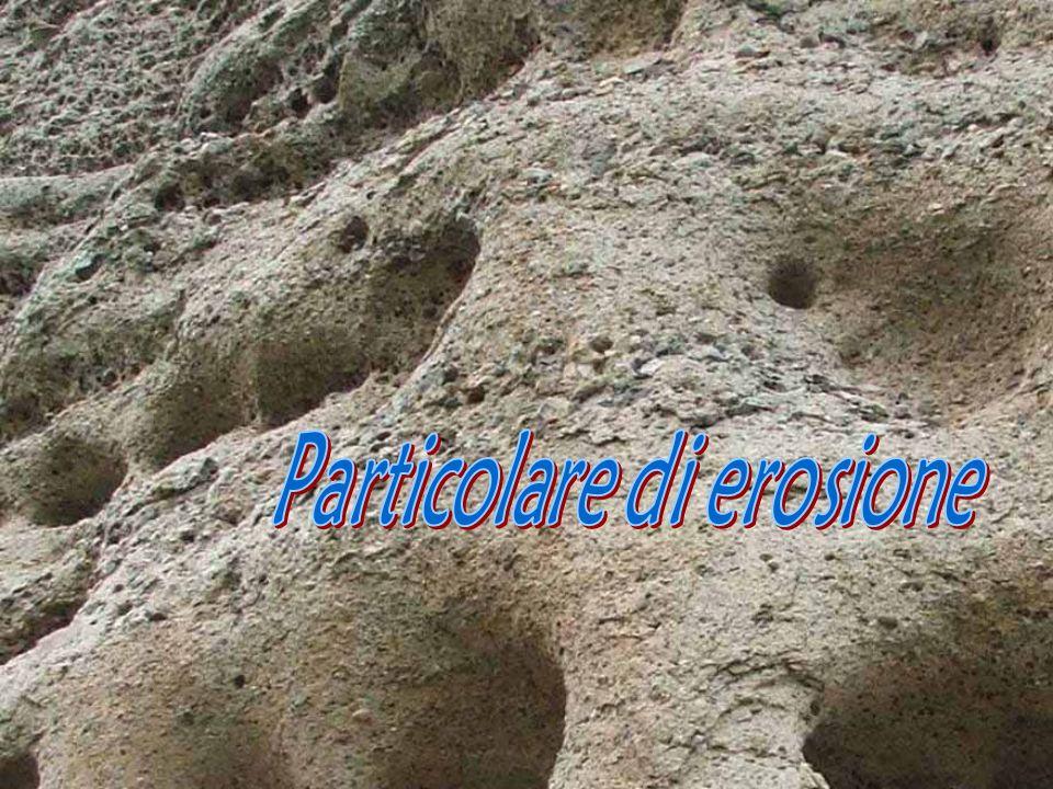 Particolare di erosione