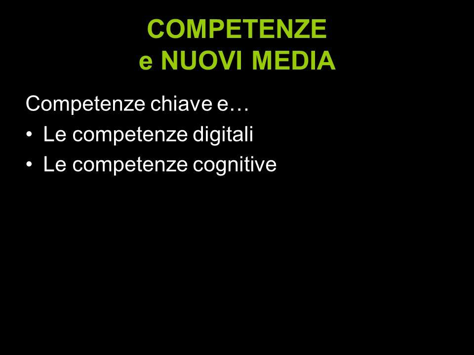 COMPETENZE e NUOVI MEDIA