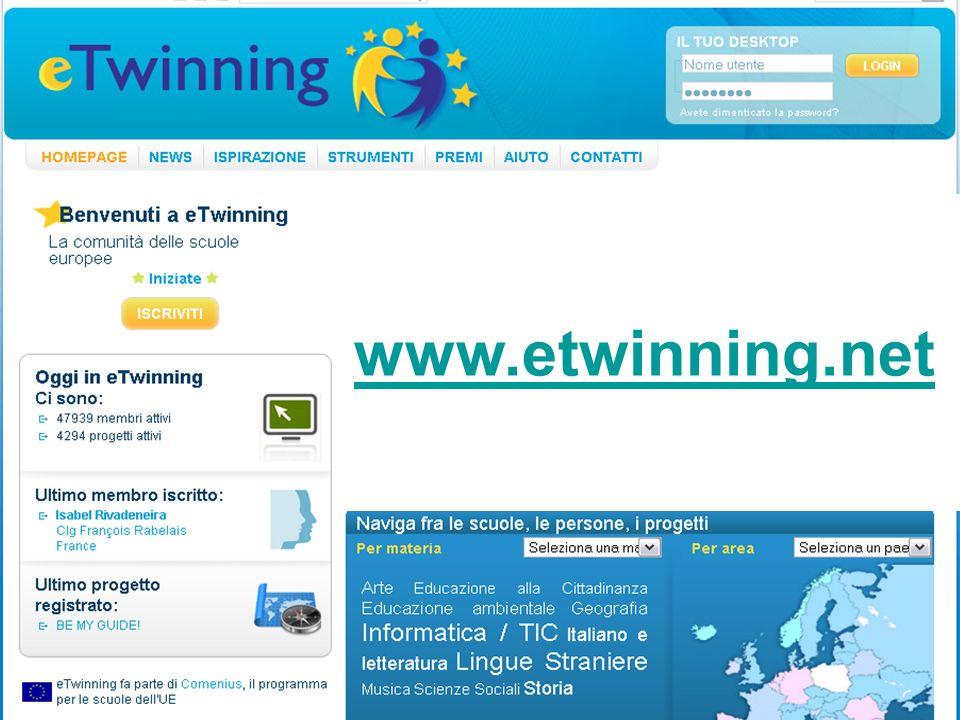 www.etwinning.net Etwinning: cos'è Comunità di pratiche