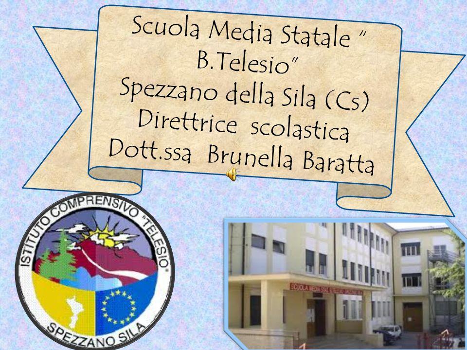 Scuola Media Statale B.Telesio Spezzano della Sila (Cs)