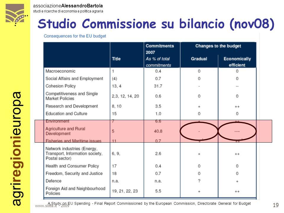 Studio Commissione su bilancio (nov08)