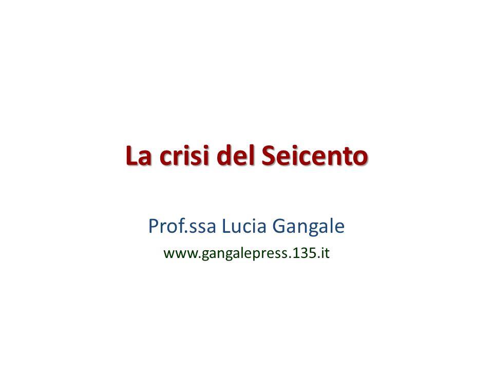 Prof.ssa Lucia Gangale www.gangalepress.135.it