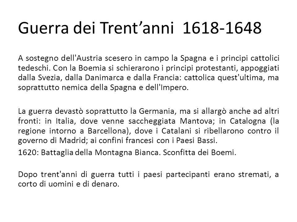 Guerra dei Trent'anni 1618-1648