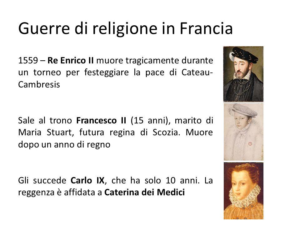 Guerre di religione in Francia