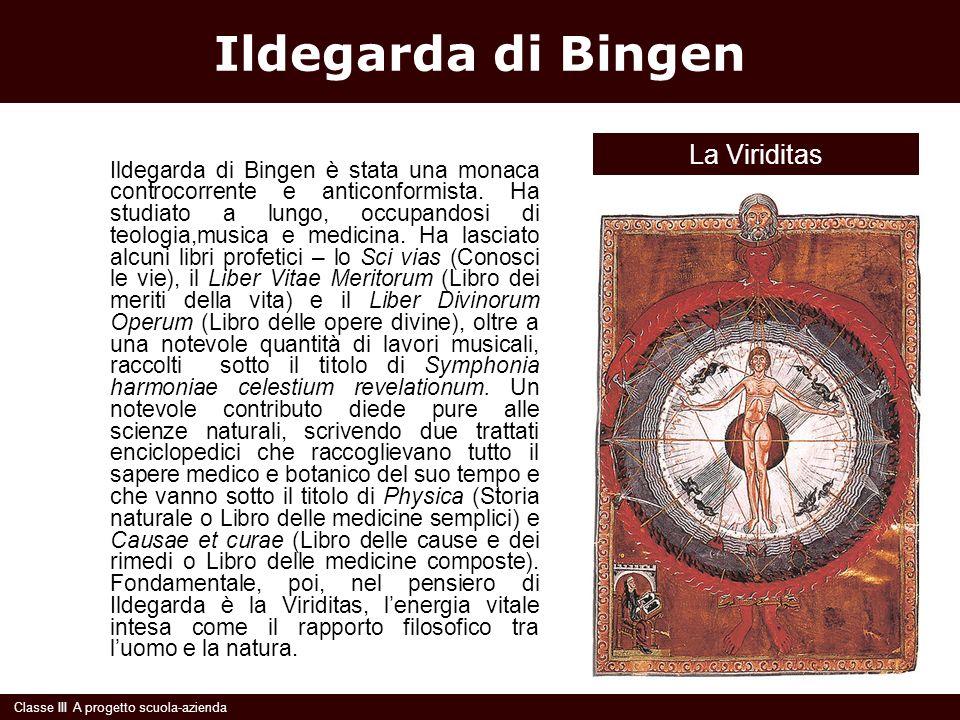 Ildegarda di Bingen La Viriditas