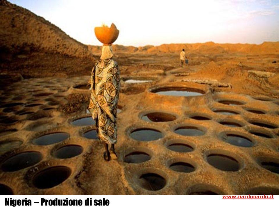 Nigeria – Produzione di sale