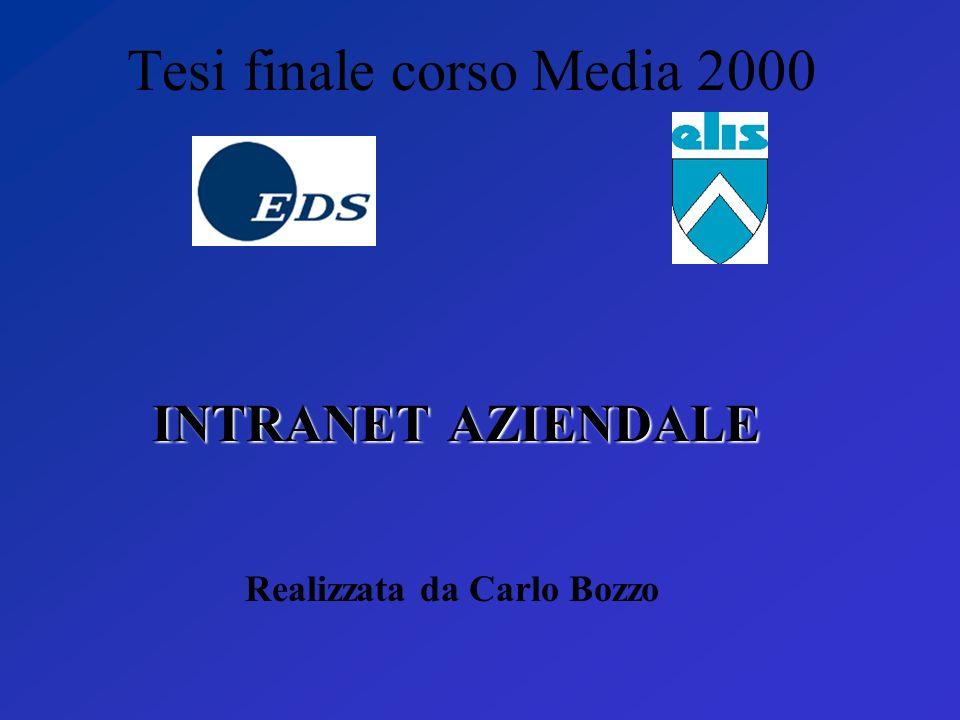 Tesi finale corso Media 2000