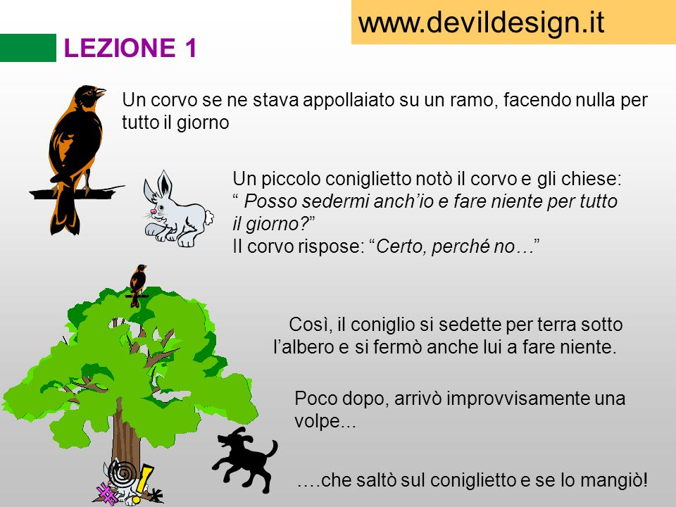 www.devildesign.it LEZIONE 1