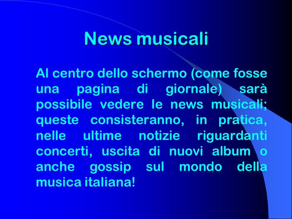 News musicali