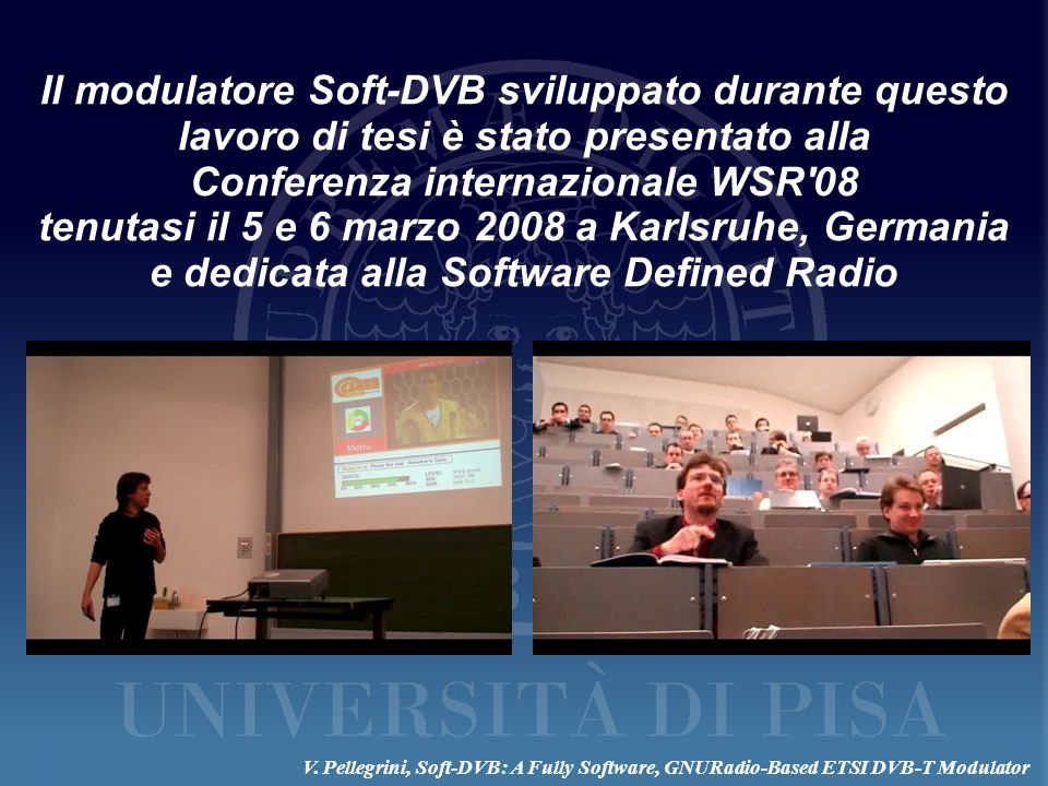 Conferenza internazionale WSR 08