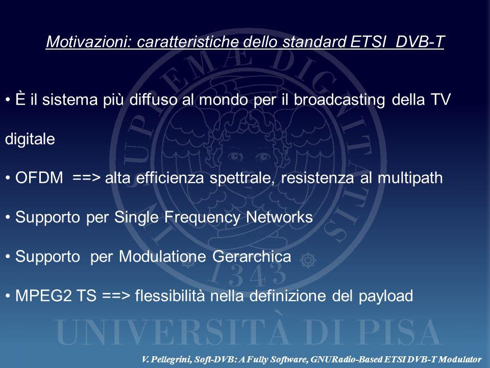 Motivazioni: caratteristiche dello standard ETSI DVB-T