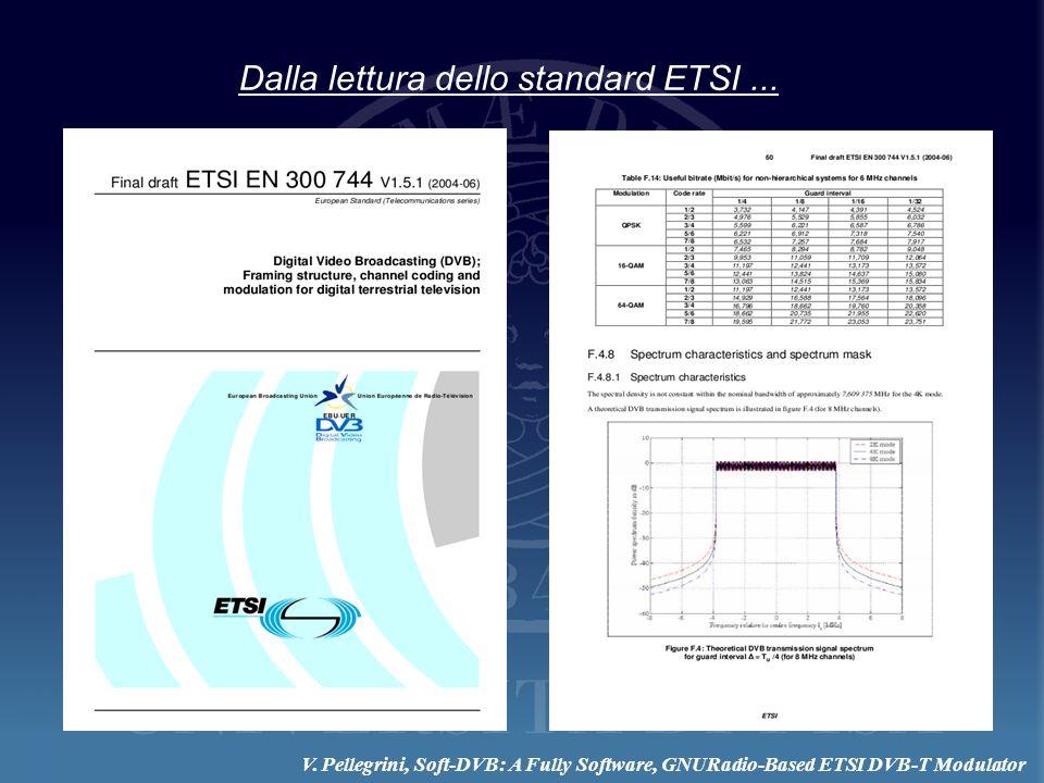 Dalla lettura dello standard ETSI ...