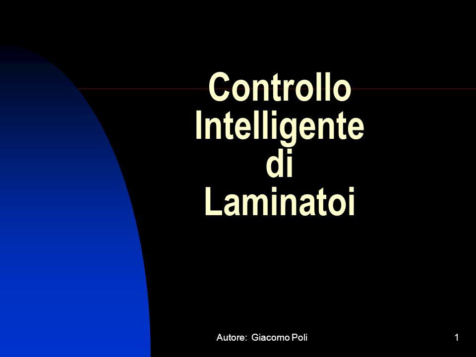 Controllo Intelligente di Laminatoi