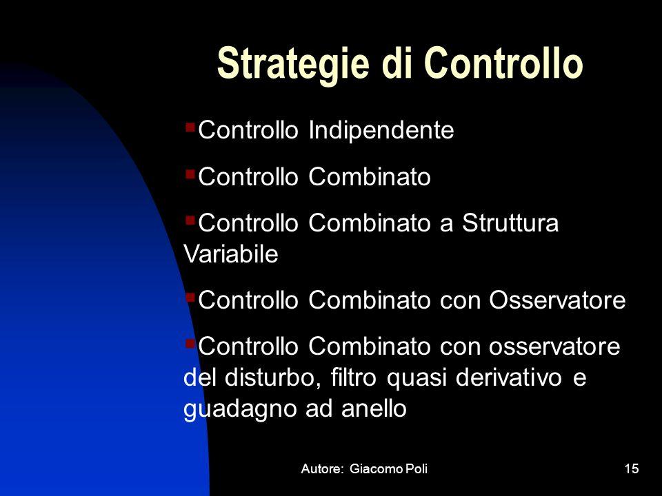 Strategie di Controllo