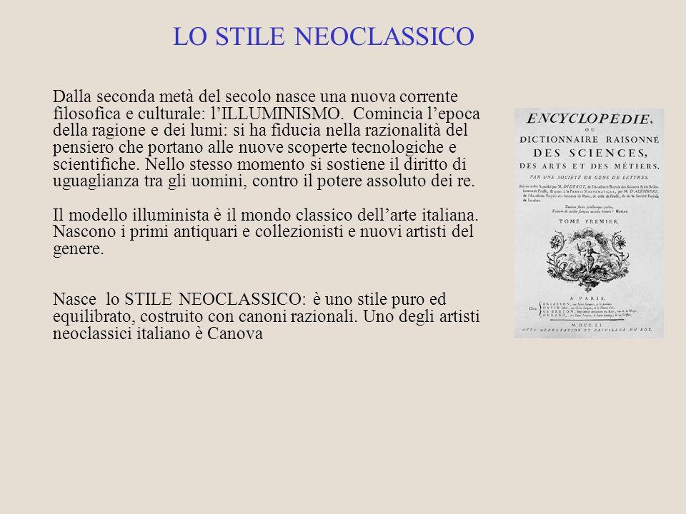 LO STILE NEOCLASSICO